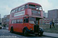 London Transport RT Finale 7th April 1979 RT624 Bus Photo c