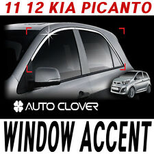 Top Window Accent Line Trim 4p 1set For 2011 2012 Kia Picanto : New Morning