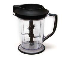 Ninja Master Prep Blender Food Processor QB1004 Pitcher 48 oz 6 cups + Splash Gu