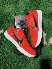Undefeated x Nike Zoom Kobe IV 4 Protro Team Orange Phoenix Suns (Size 9.5)