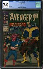 Avengers #33 CGC 7.0 (W) *3711795017*