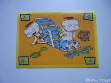 Autocollant Stickers Les Razmoket Rugrats Nickelodeon N°80 / Panini 1999