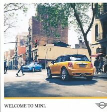 2016 Mini 36-page Sales Brochure Catalog - Cooper Paceman Convertible Countryman