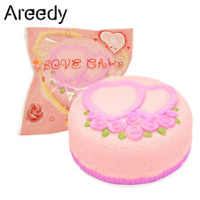 Areedy Colossal Love Cake Squishy Scented Heart-shaped Slow Rising Amazing Toy