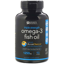Sports Research Triple Strength Omega-3 1250 MG 30 Softgels