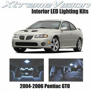 XtremeVision Interior LED for Pontiac GTO 2004-2006 (8 PCS) Cool White