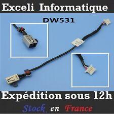 Grm3d komtj ddd13cad000 Dell XPS dc power jack socket w / beam cable wire