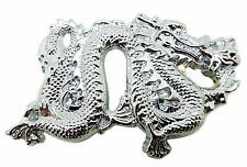 Chinese Dragon Belt Buckle Solid Brass Authentic Baron Buckles Branded Product