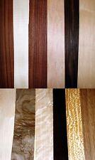 12 in vero legno impiallacciatura esotico Fogli Per Artigianato, intarsio, restauro, scatole,