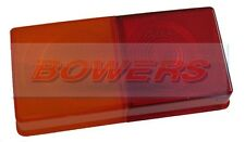 RUBBOLITE 1510 1510A 3 WAY REAR TAIL LIGHT LENS IVOR WILLIAMS TRAILER