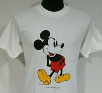 NOS Vintage MICKEY MOUSE T-SHIRT MENS LARGE WALT DISNEY PRODUCTIONS JERZEES TEE