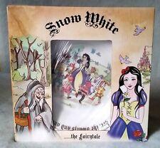 "Paul Cardew Designs Snow White Seven Dwarfs Salad Dessert Plates Set 4 8"" Disney"