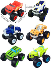 Racing Car Blaze Monster Machines Diecast Toy Russia Miracle Crusher 6PCS Truck