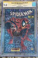 Marvel Collectible Classics Spider-Man 2  Chromium. CGC 9.8 SS McFarlane & Lee.