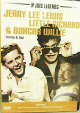 Music Legends NEW! DVD Concert Live Jerry Lee Lewis,Boxcar Willie,Little Richard
