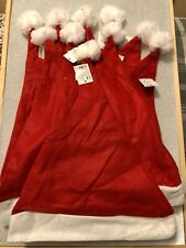 Bundle Of 10 Santa Hats Father Christmas Photo Prop