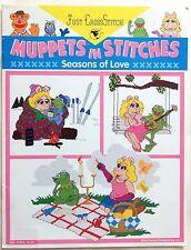 Muppets Seasons of Love Cross Stitch Pattern Book  1994
