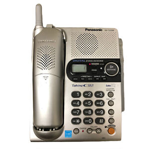 Panasonic KX-TG2356 2.4GHZ Cordless Phone Talking Caller ID Answering Machine