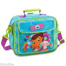Authentic Disney Doc McStuffins Kids Girls School Lunch Tote Children Bag Lambie