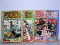 ONE PIECE BY EIICHIRO ODA VOL.# 1-4 SHONEN JUMP GRAPHIC NOVEL MANGA 2003
