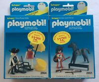 1983 Playmobil Sheriff and Wife with Accessories Set 2954