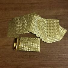 Playing Cards - Golden Colored