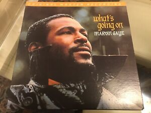 Marvin Gaye What's Going On MFSL LP Half Speed Master Audiophile NM!
