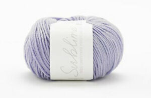 Sirdar Sublime Baby Cashmere Merino Silk DK  RRP £6.20 OUR PRICE £4.95