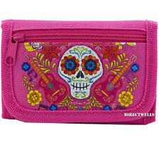 Disney Pixar Coco Juan Ortodoncia Pink Trifold Wallet