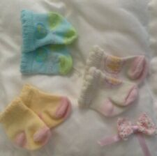 3 X Baby Annabel / Baby Born Socks Accessories