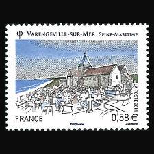 """France 2011 - Tourism """"Varengeville sur Mer"""" Architecture - Sc 3990 MNH"""