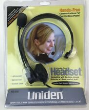 Uniden HS-910 Hands-Free Headset - 2.5 mm Headset Jack - New