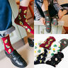 Women Cute Fruit Print Retro Funny Cartoon Long High Middle Cotton Socks Fashion