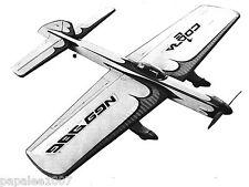 "Model Airplane Plans (UC): COBRA 7 56"" Stunt for .46 Steve Wooley / Bill Werwage"