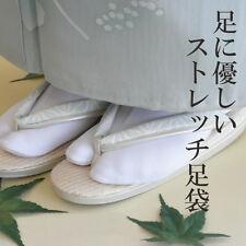 Japanese Tabi Socks Kimono Geta Clog Flip Flop White Split Toe Cosplay