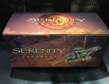 2006 Firefly Original Serenity Ship Ornament - New in Box