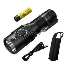 NITECORE MH23 1800 Lumen Rechargeable Compact Flashlight w 3500mAh 18650 battery