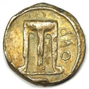 Bruttium Croton AR Silver Stater Tripod Eagle Coin 480-430 BC - NGC Choice VF