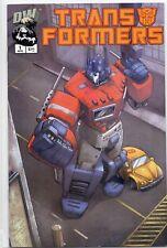Transformers # 1 DW Dreamwave productions variant edition optimus prime