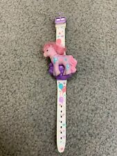 1990 Vintage My Little Pony Brushable  Mane Watch-Model MP 3001--Needs Battery