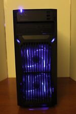 NEW Gaming PC Desktop Computer AMD QUAD CORE 3.7 GHz 500GB 8GB RAM WIN 10 WIFI