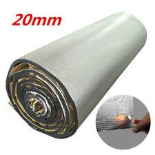 20mm Aluminum Car Fire Heat Shield Noise Sound Deadener Insulation Mat 1m x 1.4m