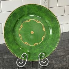 """Lynn Chase Imperial Malachite 12"""" Charger Serving Plate 6 Available"""