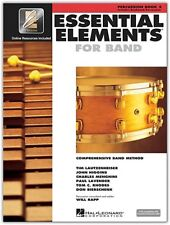 Essential Elements 2000 Percussion Book 2. New