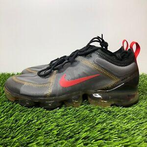 Nike Air Vapormax 2019  Black Metallic Gold Women's Size 10 Athletic Shoes