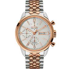 Bulova Accu Swiss Murren Men's 65C114 Automatic Chronograph Two-Tone 41mm Watch