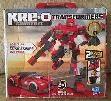 SIDESWIPE Transformers KRE-O Set, 220 pieces, NIB