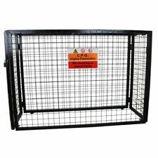 MonsterShop 1000mm Bottle Storage Steel Mesh Cage - Black