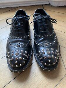 Prada Studed Mens Shoes