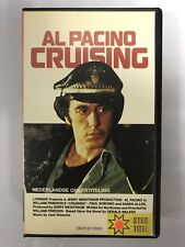 Al Pacino Cruising Ex-Rental Vintage VHS Tape English  dutch subs